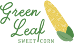 Green Leaf Sweet Corn Logo