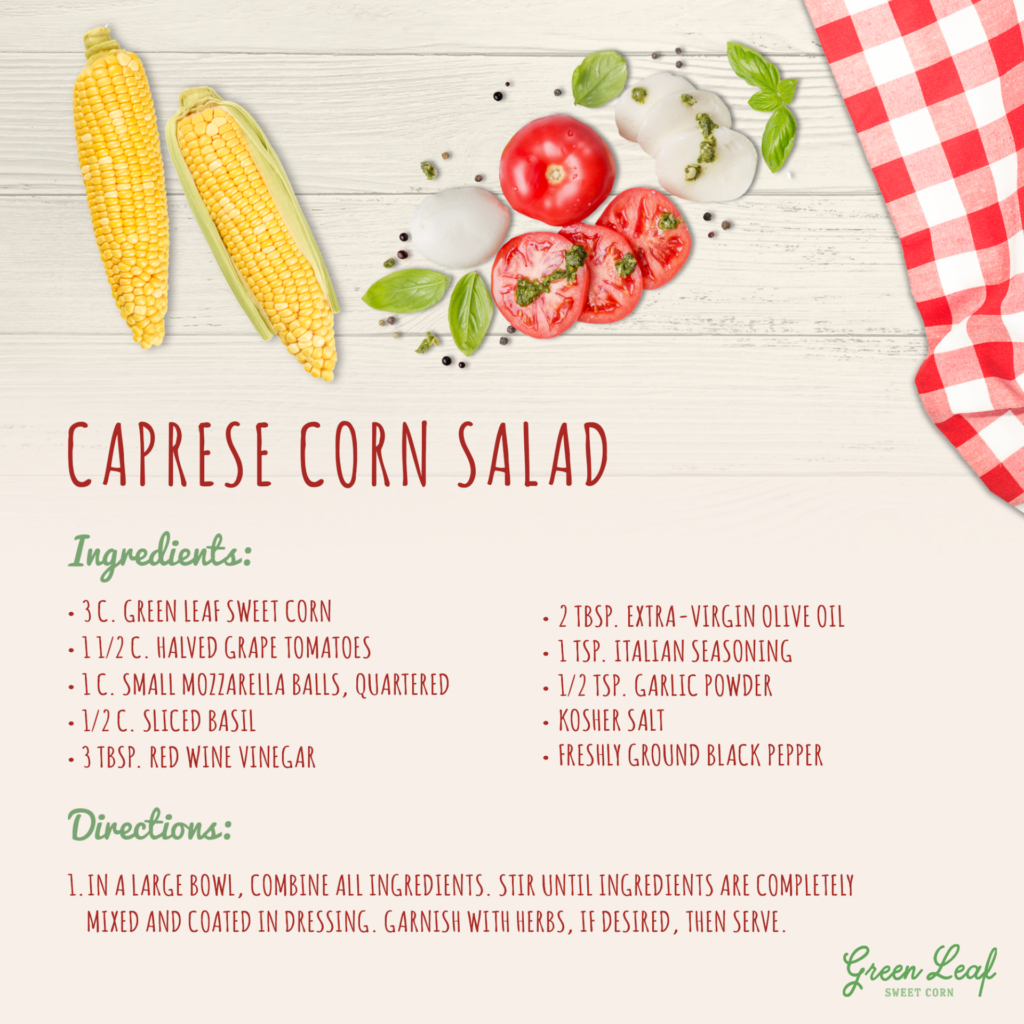 Caprese Corn Salad Recipe